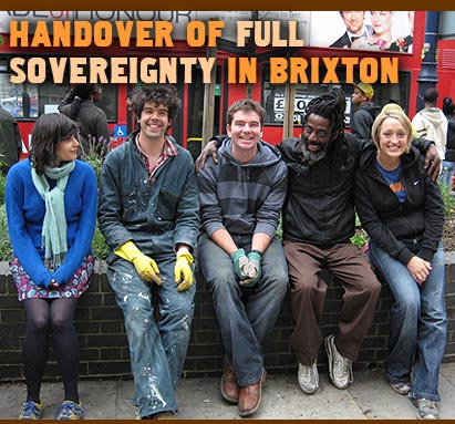 Handover of full sovereignty in Brixton