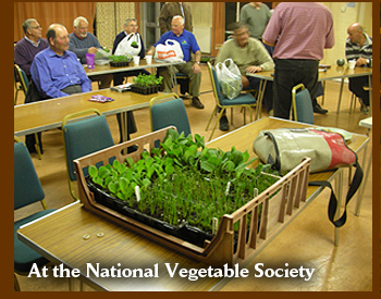 At the National Vegetable Society