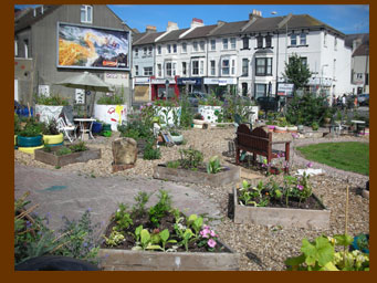 The Lewes Road Community Garden