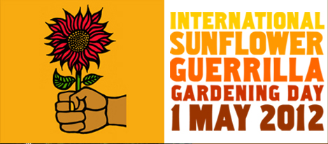 International Sunflower Guerrilla Gardening Day