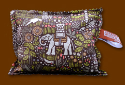 Elephant and Castle Guerrilla Gardening Lavender Pillow