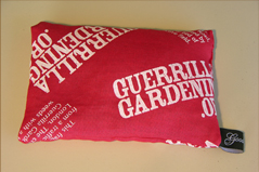 GuerrillaGardening.org Lavender Pillow 2006